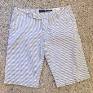 The Limited Sexy Drew Fit Seersucker Shorts